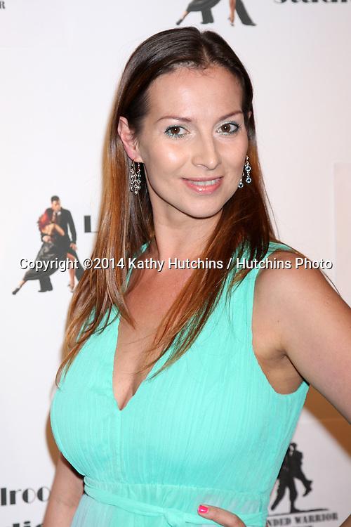 LOS ANGELES - MAR 31:  Elena Grinenko at the LA Ballroom Studio Grand Opening at LA Dance Studio on March 31, 2014 in Sherman Oaks, CA