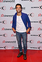 Danny Mac<br /> Launch party of Cineworld Group's new Korean-developed technology, using projections on the side of theatre walls to create a 270 degree viewing experience, at Cineworld Greenwich, The O2, London, England, UK.<br /> CAP/JOR<br /> &copy;JOR/Capital Pictures