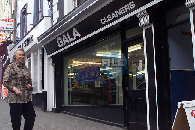 Carol Frazer, joint owner of Gala Cleaners in St Peters street..pic: Newsfile