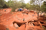 Archaeological excavations in Auroville. 2014