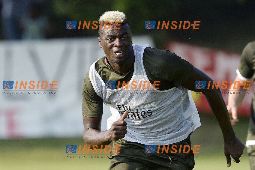 Carnago (Va) 07/07/2015 - 2016/2017 Calcio raduno A.C. Milan Football pre season training  / foto Daniele Buffa/Image Sport/Insidefoto<br /> <br /> <br /> nella foto: M'baye Niang