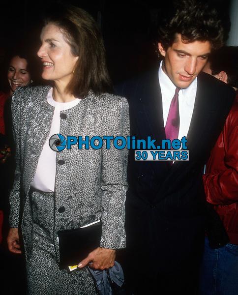 Jacqueline Kennedy John Kennedy Jr., 1988, Photo By Michael Ferguson/PHOTOlink