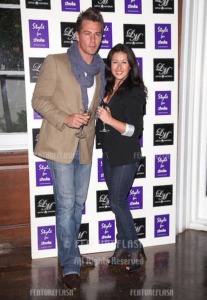 Hayley Tamaddon arriving for the Style for Stroke Party, 5 Cavendish Square, London. 02/10/2012 Picture by: Alexandra Glen / Featureflash