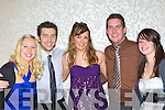 Enjoying the Fexco Christmas party in the Killarney Oaks Hotel on Saturday was l-r: Angela Josey Milltown, James Hoare Glencar, Amanda Murphy Milltown, Andrew Griffin Killorglin and Cassie Josey Milltown....