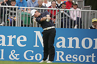 Rory McIlroy tees off with a provisional ball from the first hole during the third round of the 2008 Irish Open at Adare Manor Golf Resort, Adare,Co.Limerick, Ireland 17th May 2008 (Photo by Eoin Clarke/GOLFFILE)