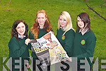 CONCERN CAMPAIGN: The students of Tralee Community College winner's of the Concern Campaign Academy trip to Berlin, Germany at the College on Friday l-r: Wiktoria Samul, Auste Kasiukeviaute, Adelina Isufi and Izabela Micka.