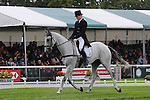Sidney Dufresne riding Quincey during the dressage phase of the 2012 Land Rover Burghley Horse Trials in Stamford, Lincolnshire