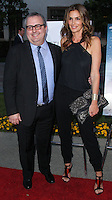 "HOLLYWOOD, LOS ANGELES, CA, USA - MAY 01: Sean Hanish, Cindy Crawford at the Los Angeles Premiere Of Lifetime Television's ""Return To Zero"" held at Paramount Studios on May 1, 2014 in Hollywood, Los Angeles, California, United States. (Photo by Xavier Collin/Celebrity Monitor)"