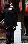Woodbury, CT-20 December 2012-122012CM02-  Mourners embrace during a wake for Sandy Hook Elementary School behavioral therapist Rachel D'Avino, at Munson-Lovetere Funeral Home Thursday afternoon in Woodbury.   Christopher Massa Republican-American