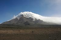 Solo on Mount Chimborazo, Ecuador