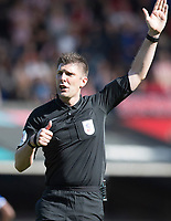 Referee Neil Hair calls offside during Ipswich Town vs Sunderland AFC, Sky Bet EFL League 1 Football at Portman Road on 10th August 2019