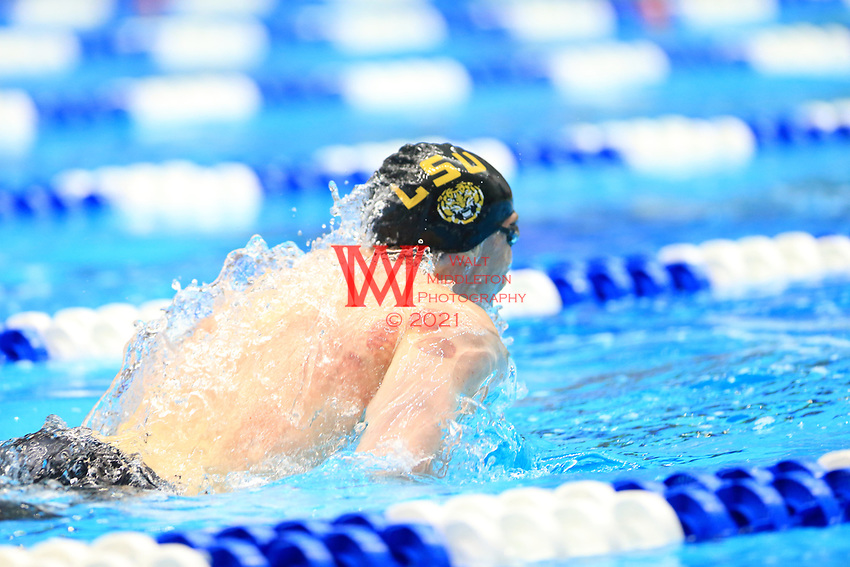 The Louisiana State University men's swimming and diving team compete at the 2017 NCAA National Swimming and Diving Championships in Indianapolis, IN. March 25, 2017<br /> (Photo by Walt Middleton Photography 2017)