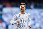 during the La Liga 2017-18 match between Real Madrid and RC Deportivo La Coruna at Santiago Bernabeu Stadium on January 21 2018 in Madrid, Spain. Photo by Diego Gonzalez / Power Sport Images