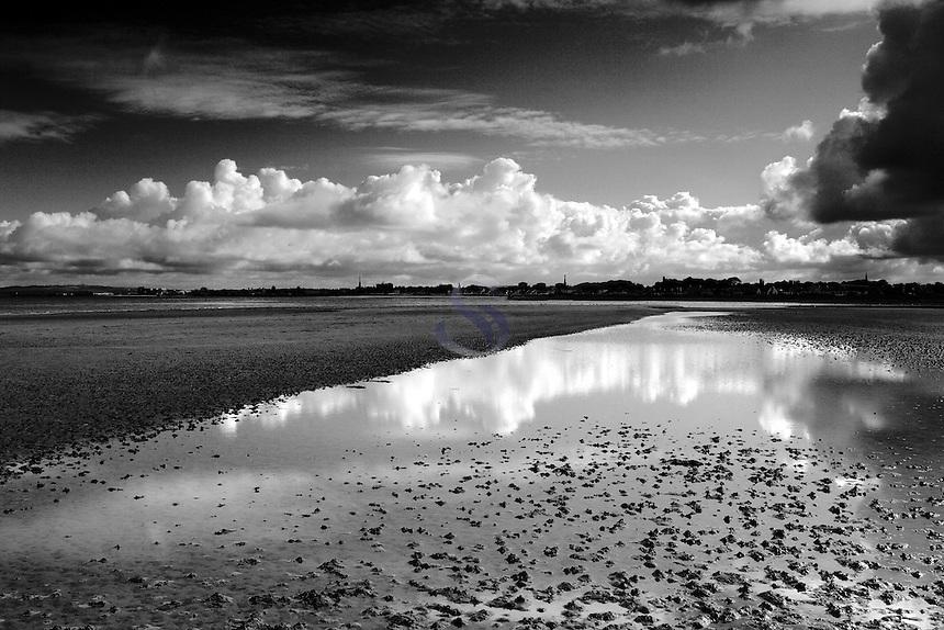Big Clouds over Ayr from Greenan Shore, Ayr, Ayrshire