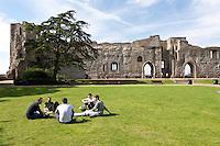 Beautiful Newark Castle grounds, Nottinghamshire