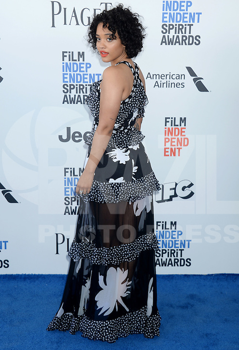 SANTA MONICA, 25.02.20-17 - SPIRIT-AWARDS - Kiersey Clemons durante Film Independent Spirit Awards em Santa Monica na California nos Estados Unidos (Foto: Gilbert Flores/Brazil Photo Press)