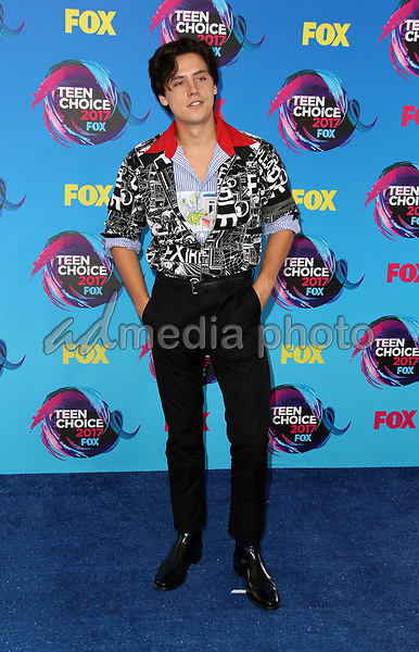 13 August 2017 - Los Angeles, California - Cole Sprouse. Teen Choice Awards 2017 Arrivals held at The Galen Center in Los Angeles. Photo Credit: AdMedia