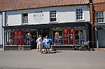 Upmarket Jack Wills clothes shop in the fashionable  village of Burnham Market on the north Norfolk coast, England