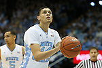 30 January 2016: North Carolina's Justin Jackson. The University of North Carolina Tar Heels hosted the Boston College Eagles at the Dean E. Smith Center in Chapel Hill, North Carolina in a 2015-16 NCAA Division I Men's Basketball game. UNC won the game 89-62.
