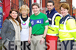 Charities the Kerry's Eye International Marathon Ramona Keogh, Liams Lodge, Betty Garnett, Kerry Rape and Sexual Abuse centre Marcus Howlett, Race Director, James McDonnald and Magella Forde Kerry Red Cross.
