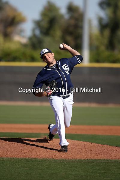 Daniel Moskos - San Diego Padres 2016 spring training (Bill Mitchell)