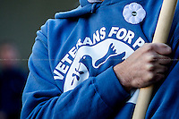 "10.11.2013 - Veterans For Peace UK: ""Never Again"""