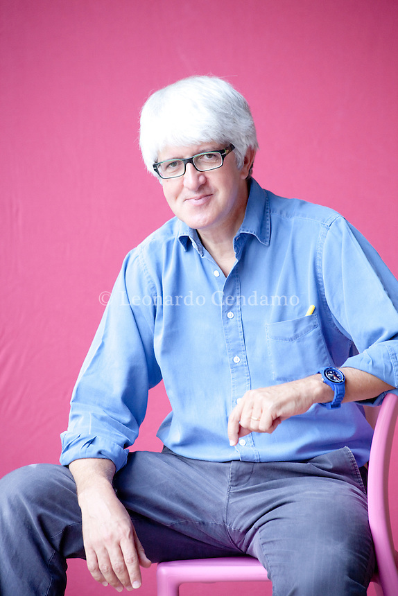 Beppe Servergnini, italian writer and jornalist. Mantova, 2011.  © Leonardo Cendamo