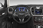 Car pictures of steering wheel view of a 2017 Chrysler 300 Limited 4 Door Sedan Steering Wheel