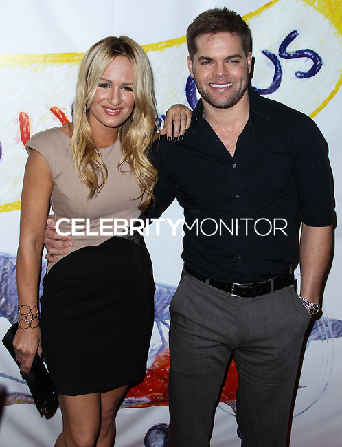 "WEST HOLLYWOOD, CA - NOVEMBER 13: Jenn Brown, Wes Chatham at the ""Stand Up For Gus"" Benefit held at Bootsy Bellows on November 13, 2013 in West Hollywood, California. (Photo by Xavier Collin/Celebrity Monitor)"