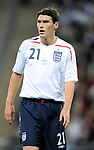 Gareth Barry of England during the Friendly International match at Wembley Stadium, London. Picture date 28th May 2008. Picture credit should read: Simon Bellis/Sportimage