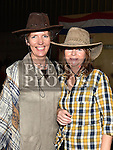 Julie McCarthy and Edel Ward at the Hooley on the Hill barn Dance on the Hill of Rath. Photo:Colin Bell/pressphotos.ie