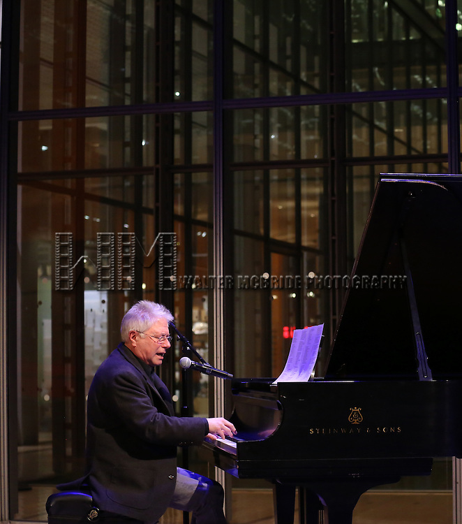 Alan Menken attends The Dramatists Guild Fund presents 'The Legacy Project: Volume III' screening  at The Time Center on December 3, 2016 in New York City.
