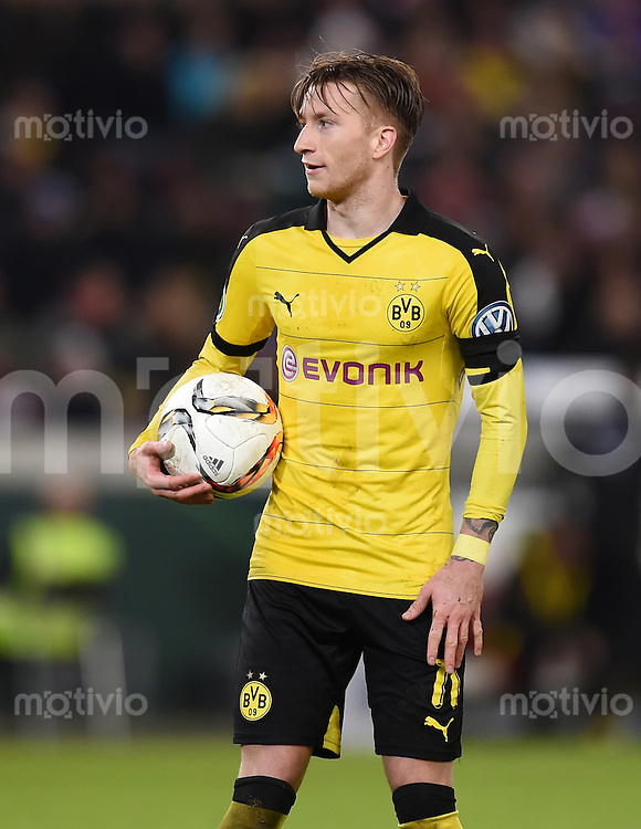 FUSSBALL DFB POKAL VIERTELFINALE SAISON  2015/2016  VfB Stuttgart - Borussia Dortmund              09.02.2016 Marco Reus (Borussia Dortmund)