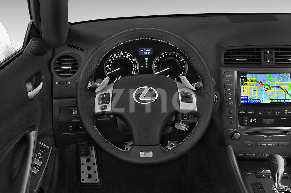 Car pictures of steering wheel view of a 2015 Lexus IS 350C 2 Door Coupe Steering Wheel