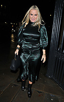 LONDON, ENGLAND - NOVEMBER 27: Meg Mathews at the Royal Osteoporosis Gala Dinner, Banqueting House, Whitehall on Wednesday 27 November 2019 in London, England, UK. <br /> CAP/CAN<br /> ©CAN/Capital Pictures