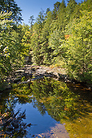 Crane Creek reflections, Fall Creek Falls State Park, Tennessee.