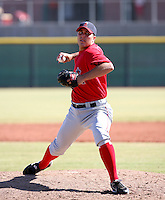 Michael Kohn / Los Angeles Angels 2008 Instructional League..Photo by:  Bill Mitchell/Four Seam Images