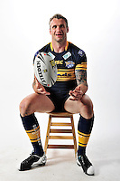 PICTURE BY VAUGHN RIDLEY/SWPIX.COM - Rugby League - ISC 2012 Super League Team Kit Shoot - 18/08/11- Leeds Rhinos Jamie Peacock.