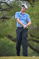 David Hearn (CAN) watches his tee shot on 2 during Round 3 of the Valero Texas Open, AT&amp;T Oaks Course, TPC San Antonio, San Antonio, Texas, USA. 4/21/2018.<br /> Picture: Golffile   Ken Murray<br /> <br /> <br /> All photo usage must carry mandatory copyright credit (&copy; Golffile   Ken Murray)