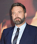 HOLLYWOOD, CA - NOVEMBER 13: Executive producer/actor Ben Affleck arrives at the Premiere Of Warner Bros. Pictures' 'Justice League' at the Dolby Theatre on November 13, 2017 in Hollywood, California.