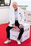 Swedish actor Max Von Sydow attends to a photocall at the Festival de Cine Fantastico de Sitges in Barcelona. October 07, Spain. 2016. (ALTERPHOTOS/BorjaB.Hojas)