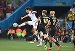 (L-R) Ji Dong-Won (KOR), Nicolas Lombaerts, Anthony Vanden Borre (BEL),<br /> JUNE 26, 2014 - Football / Soccer :<br /> FIFA World Cup Brazil 2014 Group H match between South Korea 0-1 Belgium at Arena de Sao Paulo in Sao Paulo, Brazil. (Photo by SONG Seak-In/AFLO)