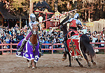Charlotte NC - Jousting  tournament at the Rennaisance Festival