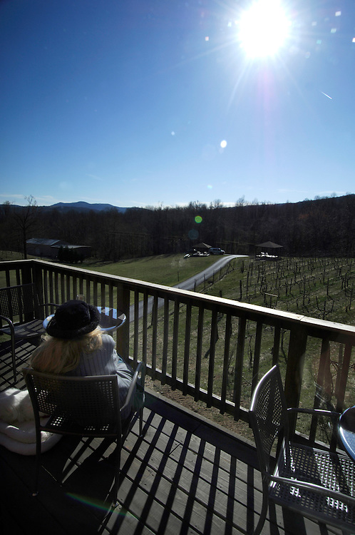Naked Mountain Vineyard and Winery in Markham Virginia has the best views and the best chardonnays. The vineyard is known  locally for its wonderful selection of chardonnays.