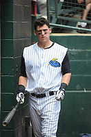 Trenton Thunder outfielder Tyler Austin (17) during game against the Erie Sea Wolves at ARM & HAMMER Park on May 15, 2014 in Trenton, NJ.  Erie defeated Trenton 4-2.  (Tomasso DeRosa/Four Seam Images)