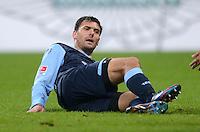 Fussball 2. Bundesliga:  Saison   2012/2013,    14. Spieltag  TSV 1860 Muenchen - 1. FC Koeln  16.11.2012 Gregor Wojtkowiak (1860 Muenchen)