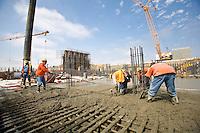 Construction Men Working Hard