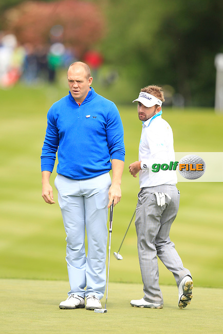 Mike Tindell during the Pro-AM of the 2015 BMW PGA Championship. Wentworth Golf Club, Virginia Water, Surrey, UK. 20/05/2015.<br /> Picture Fran Caffrey, www.golffile.ie