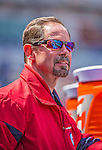14 April 2013: Washington Nationals Head Athletic Trainer Lee Kuntz stands in the dugout prior to a game against the Atlanta Braves at Nationals Park in Washington, DC. The Braves shut out the Nationals 9-0 to sweep their 3-game series. Mandatory Credit: Ed Wolfstein Photo *** RAW (NEF) Image File Available ***