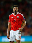 Hal Robson Kanu of Wales during the World Cup Qualifying Group D match at the Cardiff City Stadium, Cardiff. Picture date 2nd September 2017. Picture credit should read: Simon Bellis/Sportimage